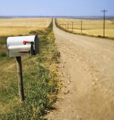 La Grange, Texas Rural Mail Route