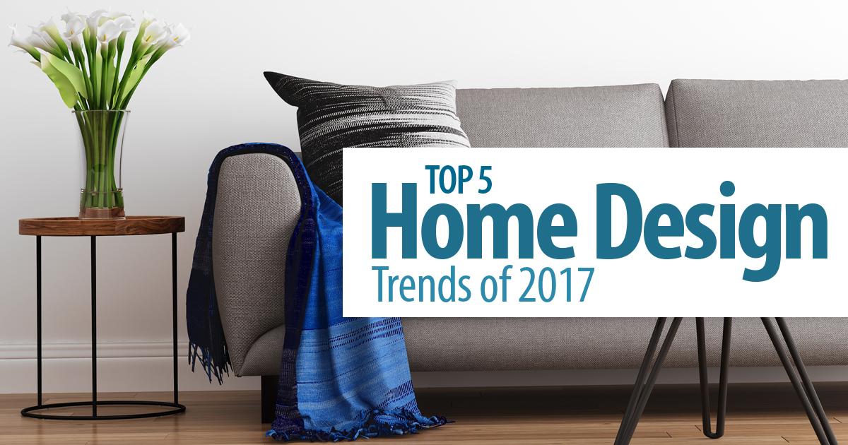 Top 5 Home Design Trends Of 2017 – Schultz Texas Properties